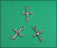 Cross - Antique Silver