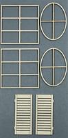 Build a Window 2 - Chipboard Embellishment