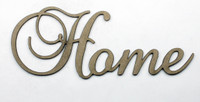 Home - Fancy Chipboard Word
