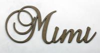 Mimi - Fancy Chipboard Word
