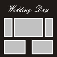 Wedding Day - 12x12 Overlay