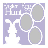 Easter Egg Hunt - 12x12 Overlay