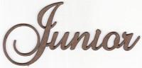 Junior - Fancy Chipboard Word