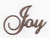 Joy - Fancy Chipboard Words
