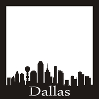 Dallas - 12x12 Overlay