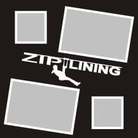 Ziplining  - 12x12 Overlay