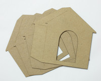 Doghouse 4 Pack - Chipboard Shapes