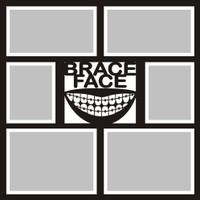 Brace Face - 12x12 Overlay