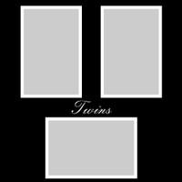 Twins - 12x12 Overlay