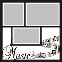Music  12x12 Overlay