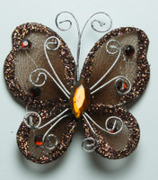 "Butterfly - 2"" Brown"