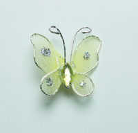 """Butterfly - 1"""" Yellow"""