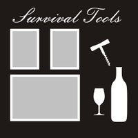 Survival Tools - 12x12 Overlay