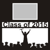 Class of 2015 with Graduates - 12x12 Overlay