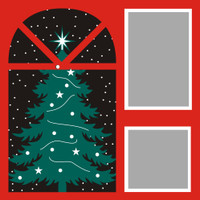 Christmas Tree - 12x12 Overlay