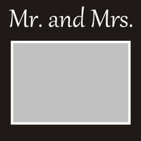 Mr and Mrs - 6x6 Overlay