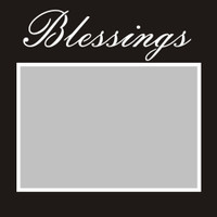 Blessings - 6x6 Overlay