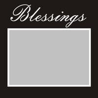 Blessings - 6x6 Overlay