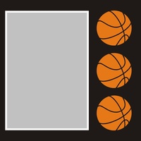 Basketball - 6x6 Overlay