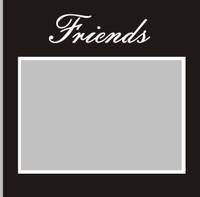 Friends - 6x6 Overlay