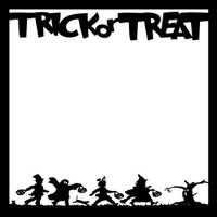 Trick or Treat - 12x12 Overlay