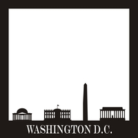 Washington D.C. - 12x12 Overlay