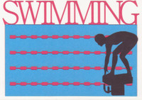 Swimming - Die Cut