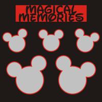 Magical Memories - 12x12 Overlay