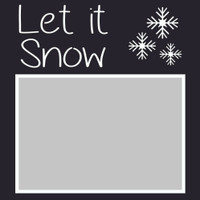 Let it Snow - 6x6 Overlay