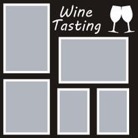 Wine Tasting - 12x12 Overlay