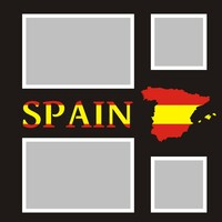 Spain  - 12x12 Overlay