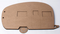 Camper Album Chipboard Album
