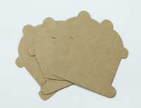 Fire Hydrant 4 Pack - Chipboard Shapes