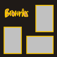 Brownies - 12x12 Overlay