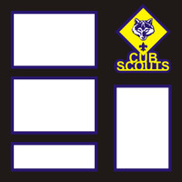 Cub Scouts- 12x12 Overlay