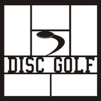 Disc Golf - 12x12 Overlay