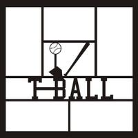 T Ball - 12x12 Overlay