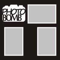 Photo Bomb - 12x12 Overlay