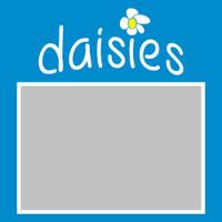 Daisies - 6x6 Overlay