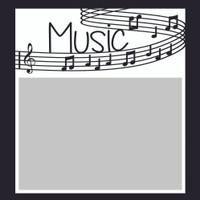 Music  - 6x6 Overlay