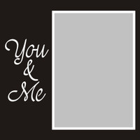 You and Me - 6x6 Overlay