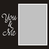 You and Me - 6x6 Overlay