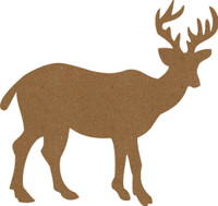 Deer - Large Chipboard Embellishment