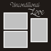 Unconditional Love - 12x12 Overlay