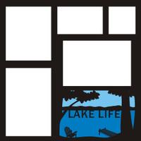Lake Life - 12x12 Overlay