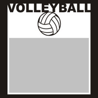 Volleyball with Ball - 6x6 Overlay