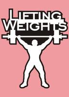 Lifting Weights - Die Cut