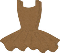 Leotard with Tutu - Chipboard Album