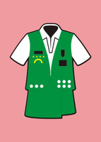Girl Scouts Uniform - Die Cut