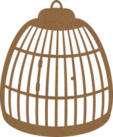 Birdcage by Want2Scrap - Chipboard Embellishment